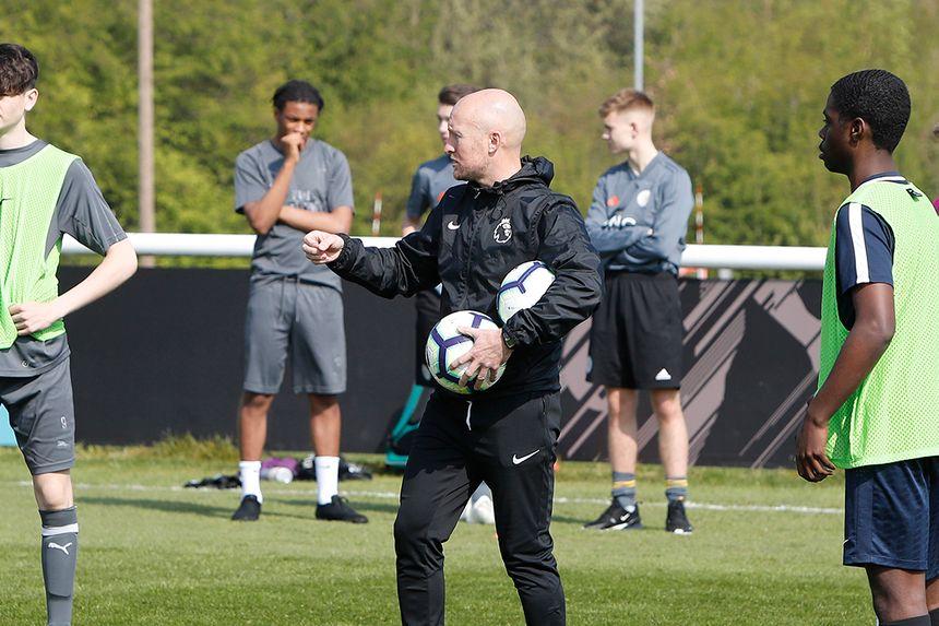 Coach at Premier League's U16 Residential