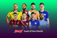 Budweiser Goal of the Month nominees for August