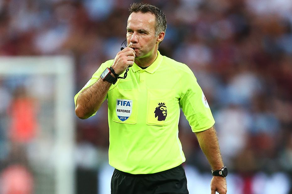 Paul Tierney, referee