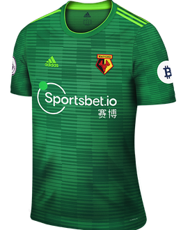 Watford third shirt, 2019-20
