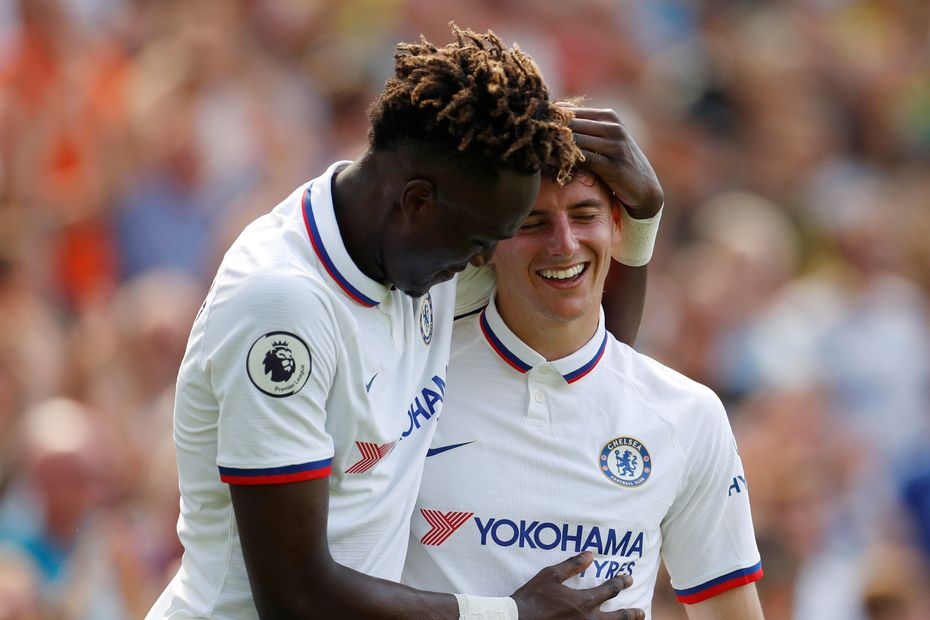 Tammy Abraham and Mason Mount