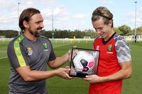 Cantwell: Playing in PL for Norwich is extra special