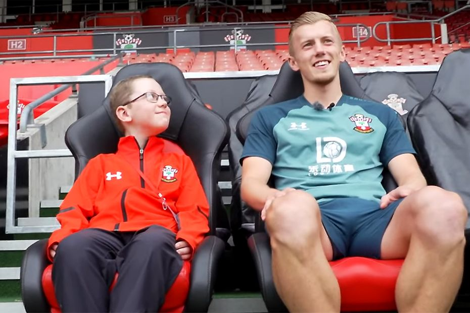 Leon and Southampton midfielder James Ward-Prowse