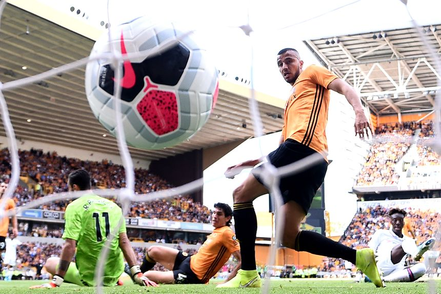 Tammy Abraham's goal against Wolves