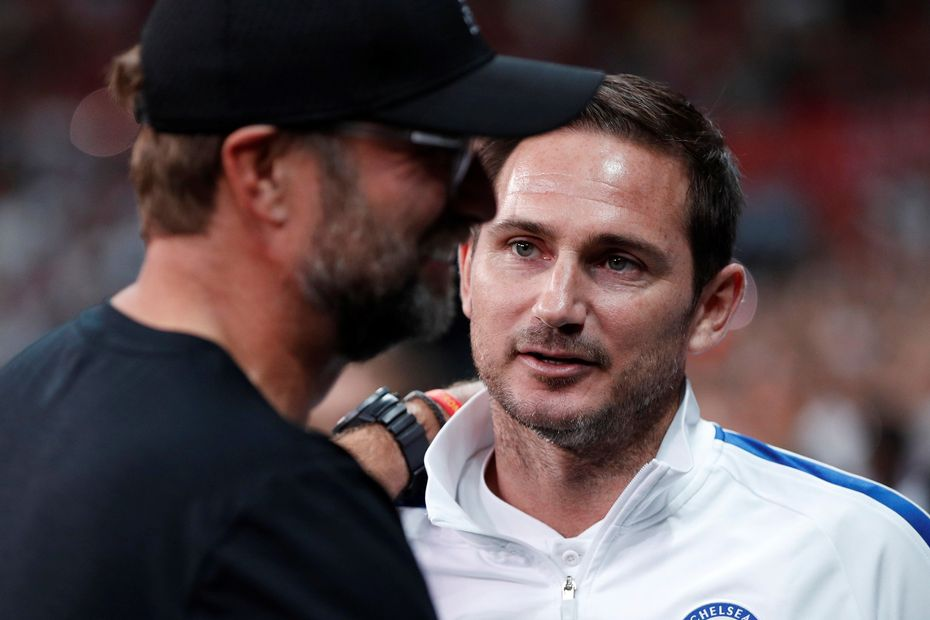 Klopp and Lampard, Liverpool and Chelsea