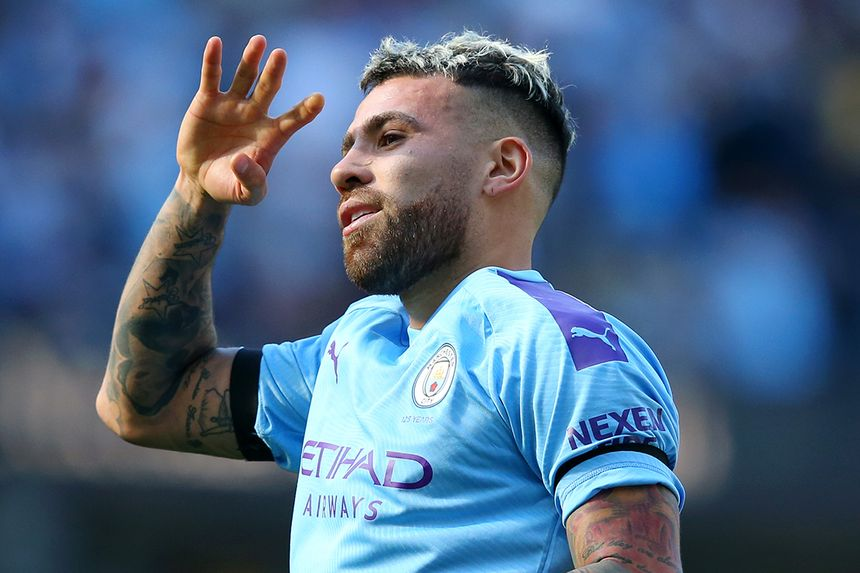 Nicolas Otamendi, Man City