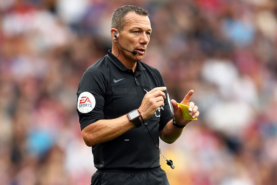 Kevin Friend, referee