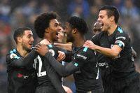 Willian's Goal of the Month for Chelsea v Brighton
