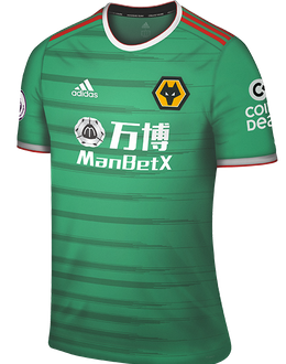 Wolves third shirt, 2019-20
