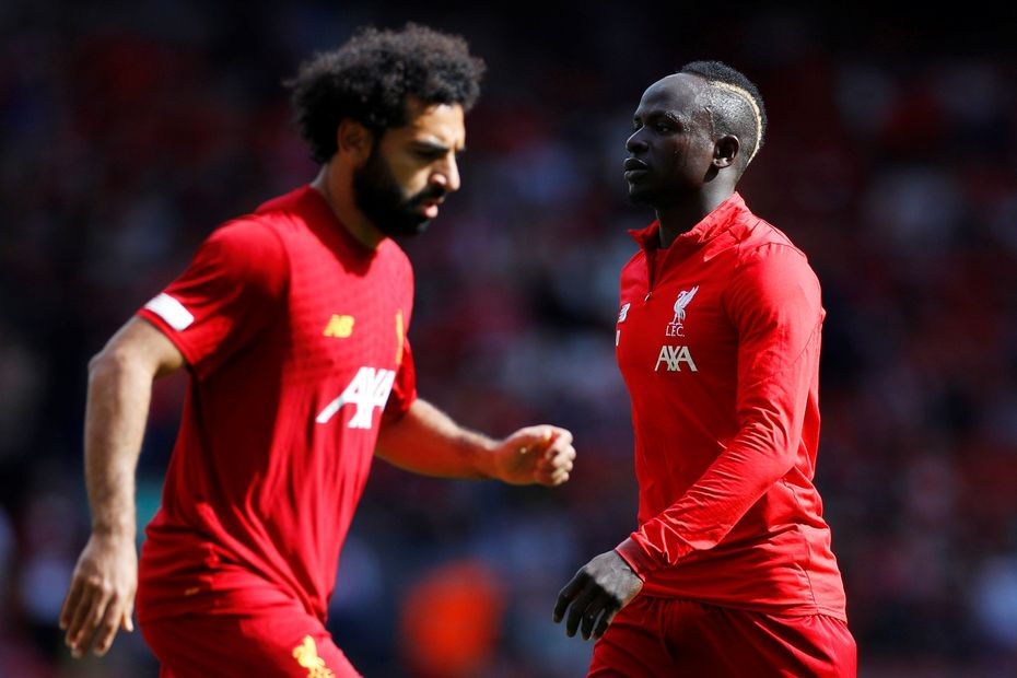 Mane and Salah, Liverpool