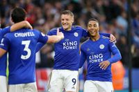 Given: Vardy is loving life under Rodgers