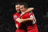 Van Persie: Playing with Giggs was unbelievable