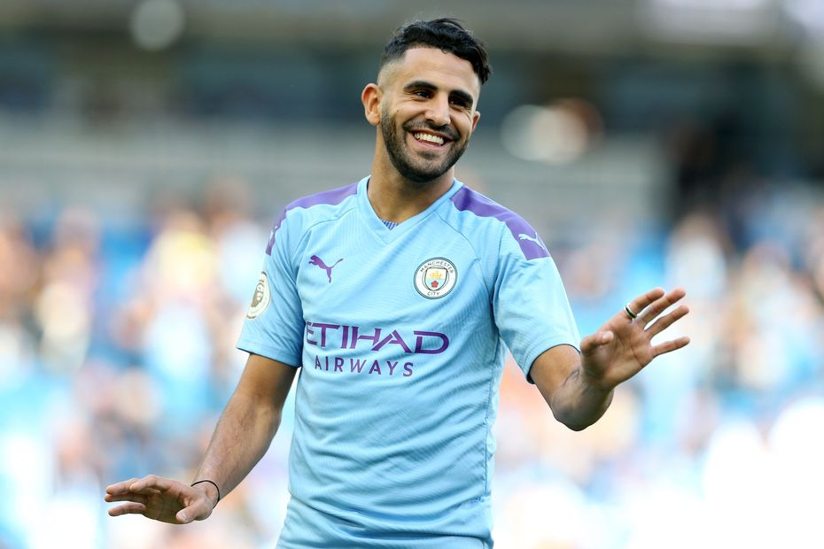 Riyad Mahrez, Man City