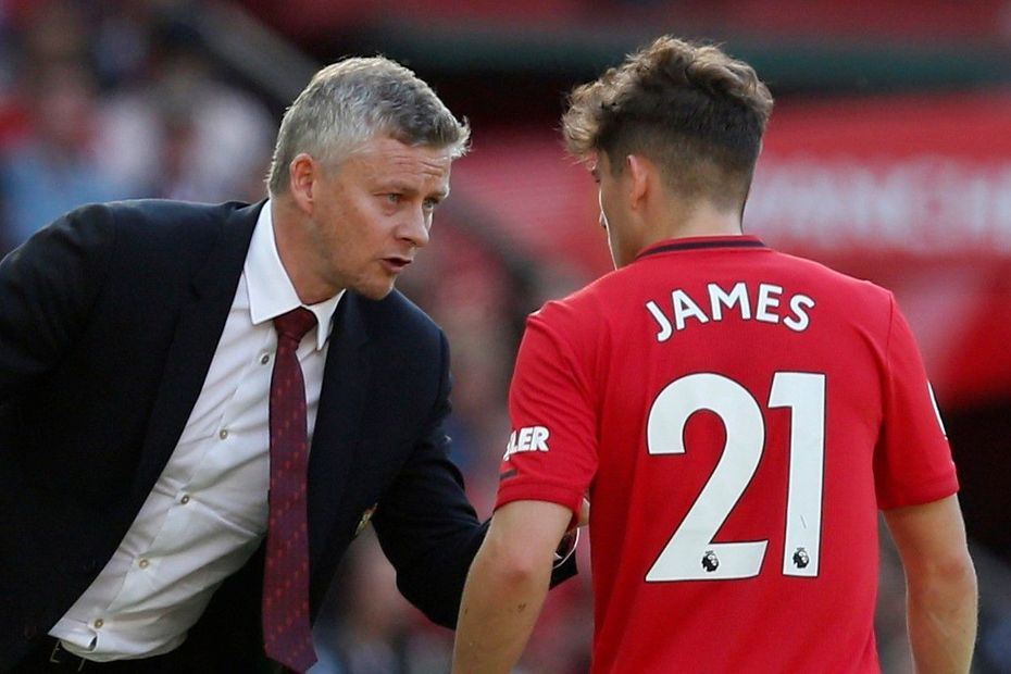 James and Solskjaer, Man Utd