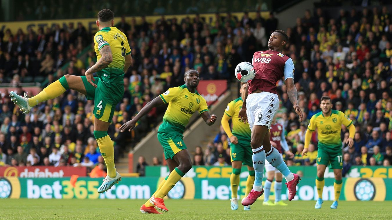 Norwich City 1-5 Aston Villa