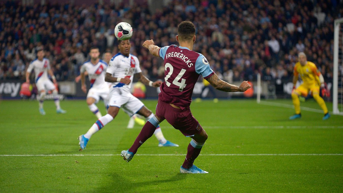 West Ham United 1-2 Crystal Palace