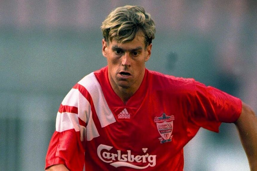 Nick Tanner in his playing days for Liverpool