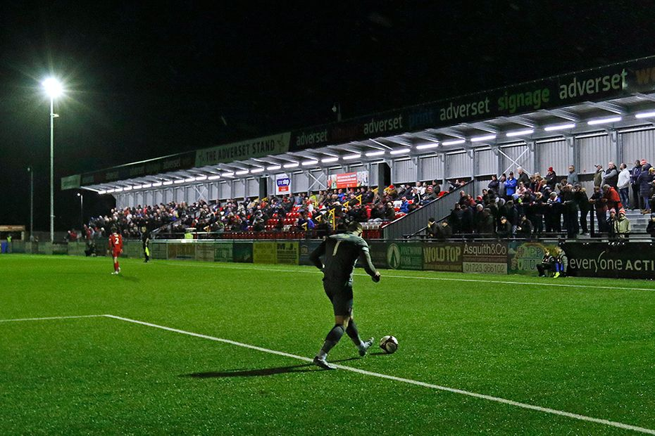 Scarborough Athletic's stadium