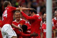Classic match: Berbatov treble spells trouble for Liverpool