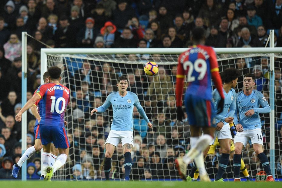 Andros Townsend, Crystal Palace goal in 2018/19