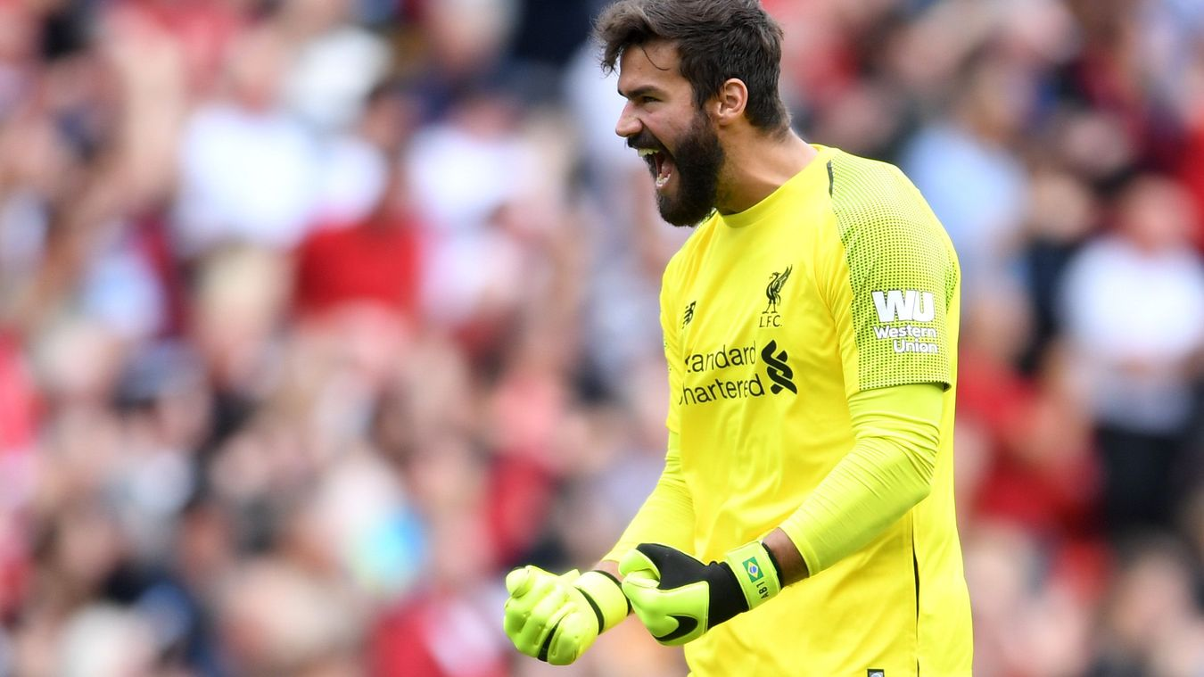 Alisson Becker, Liverpool celebration in 2018/19