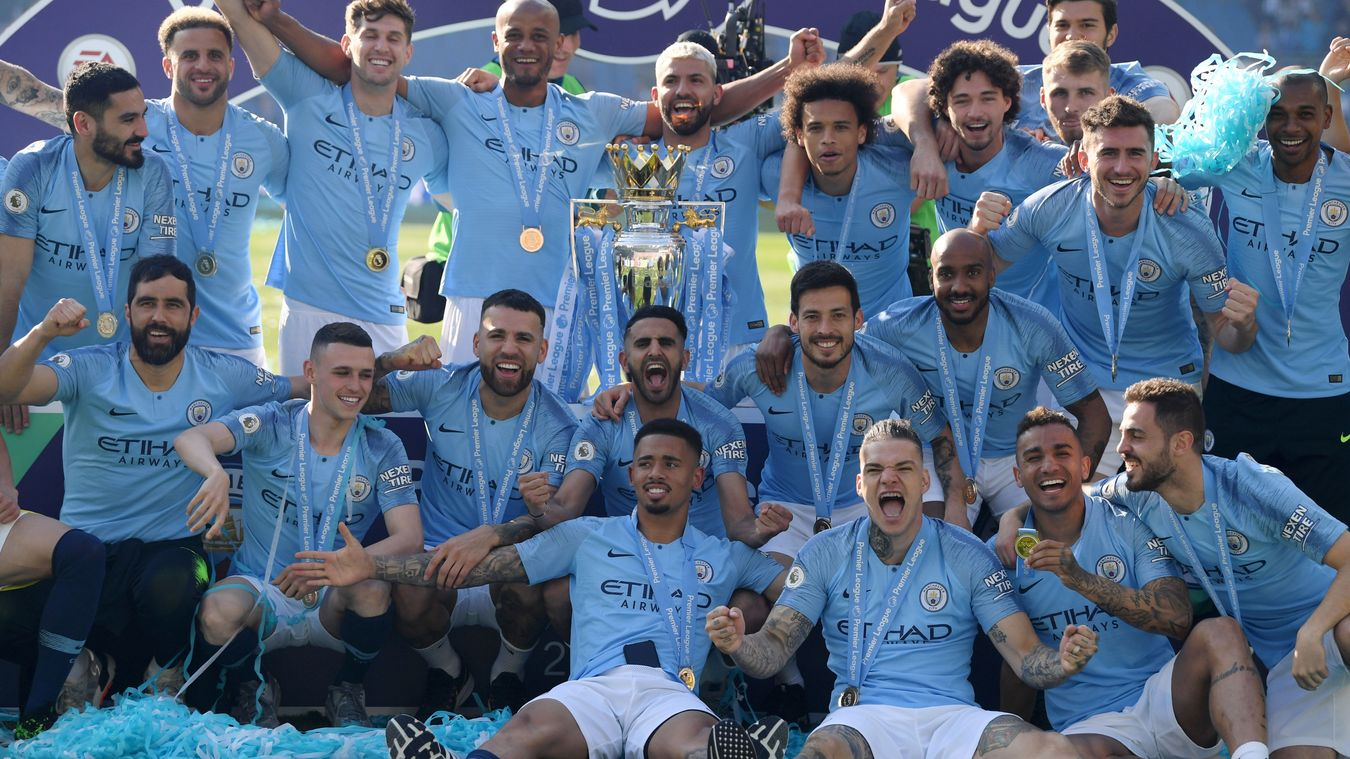 Manchester City crowned 2018/19 champions