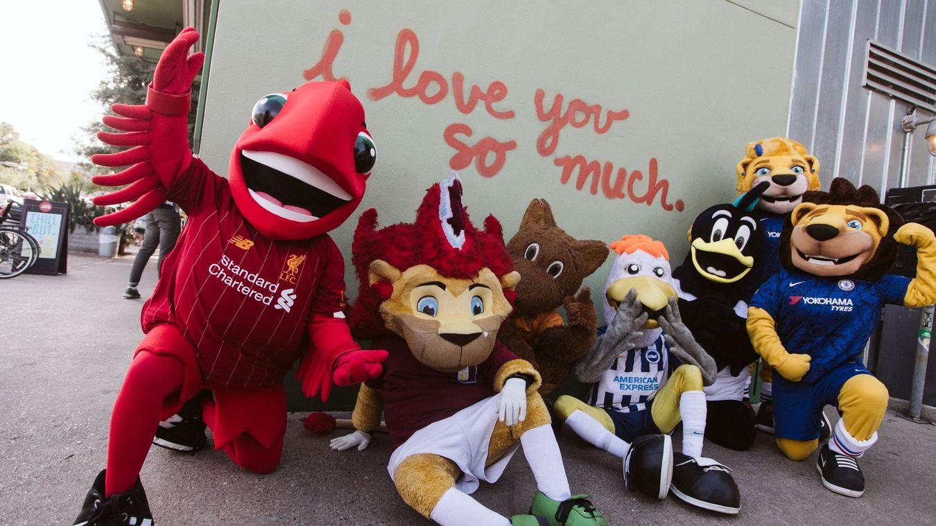 PL mascots murals