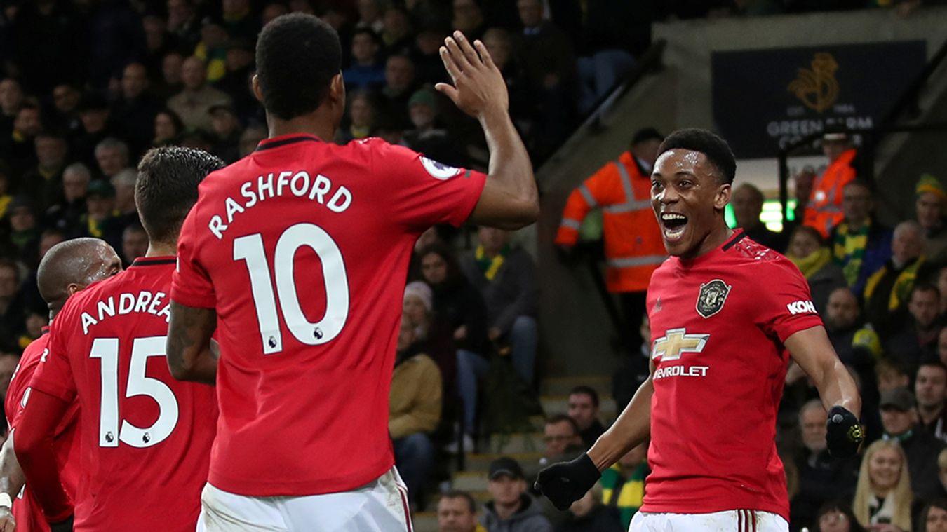 Norwich City 1-3 Man Utd