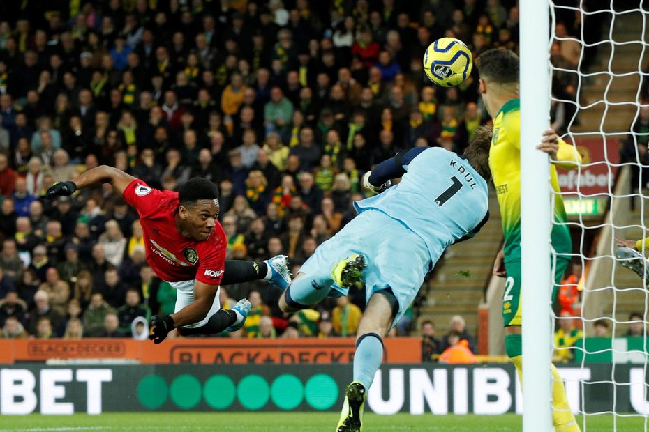 Anthony Martial header