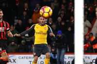 Goal of the day: Perez volleys in against AFC Bournemouth