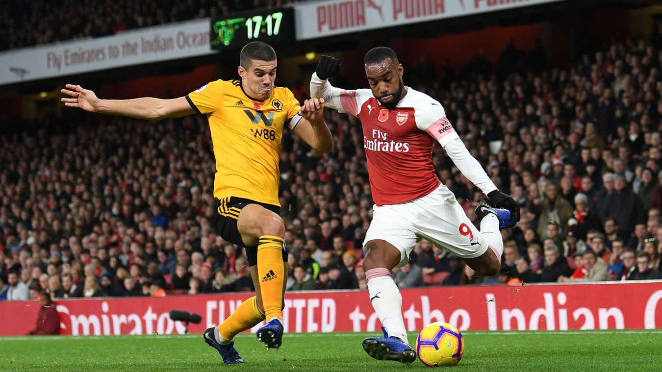 Arsenal v Wolverhampton Wanderers