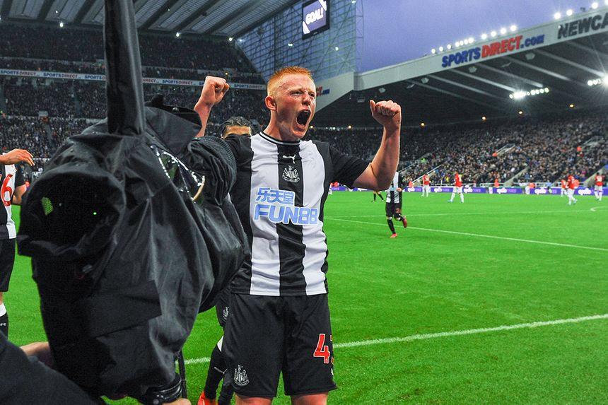 Matty Longstaff, Newcastle United