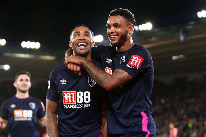 Callum Wilson and Joshua King, AFC Bournemouth