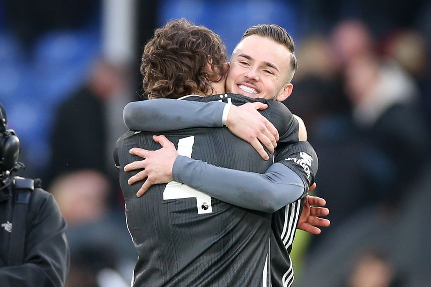 James Maddison and Caglar Soyuncu