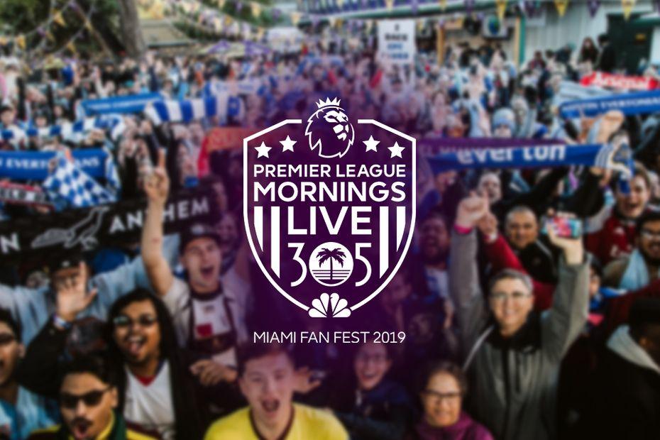 Premier League Mornings Miami logo