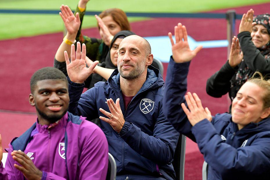 West Ham Players Project Pable Zabaleta