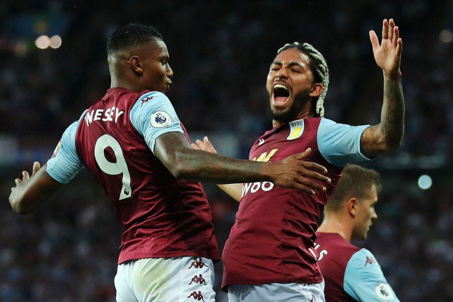 Wesley and Douglas Luiz, Aston Villa