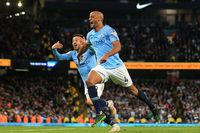 Flashback: Kompany stunner against Leicester