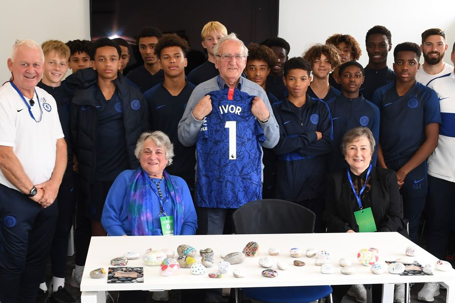 Ivor Perl Holocaust and Chelsea Under-15s