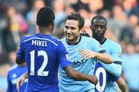 Lampard's goal for Man City against Chelsea
