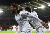 On this day - 26 Nov 2016: Swansea 5-4 Crystal Palace