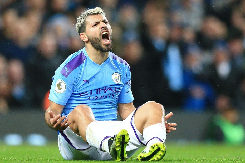 La lesión que lo tendrá varias semanas fuera a Sergio Agüero | ECUAGOL