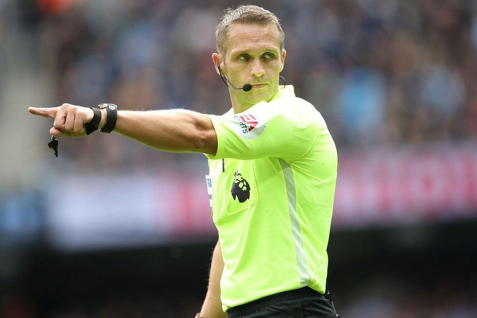 Referee Craig Pawson