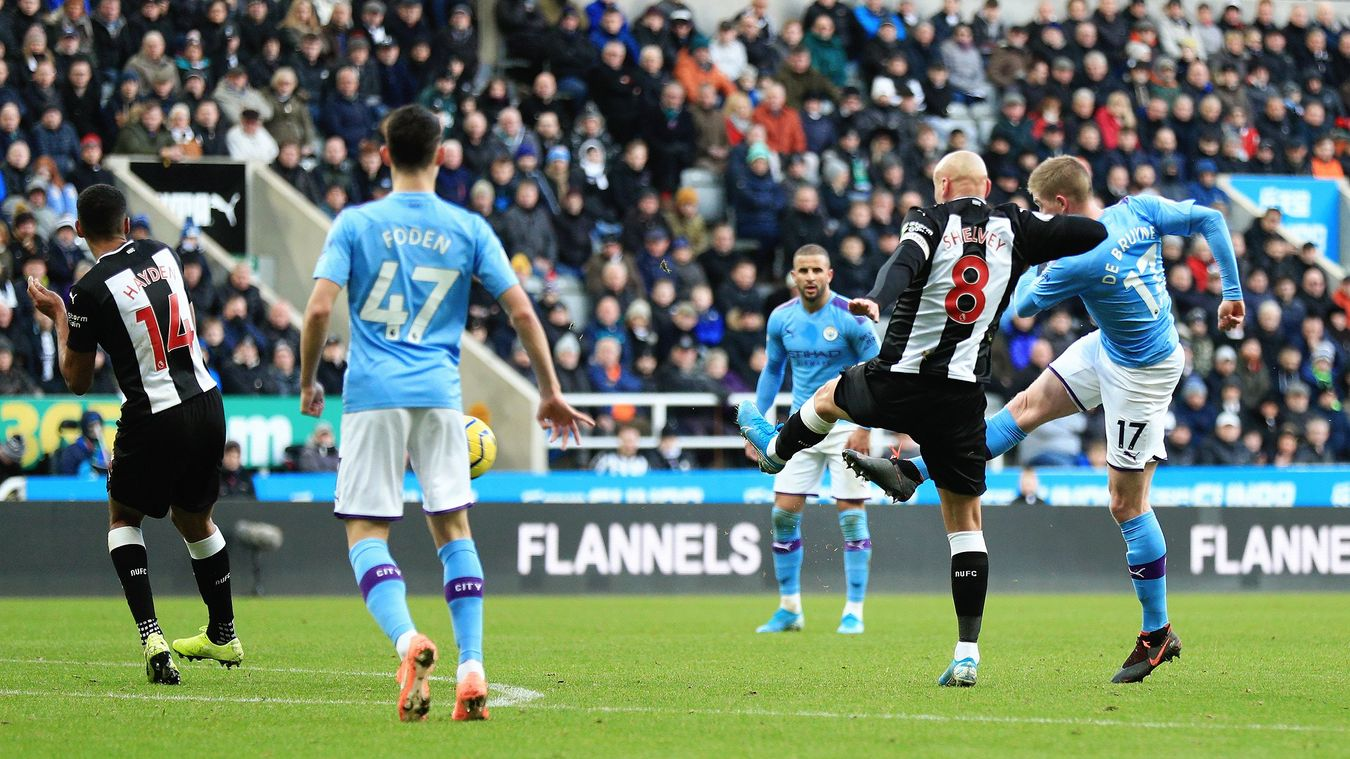 Newcastle United 2-2 Manchester City
