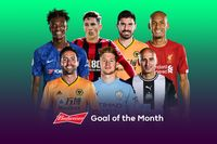 Watch Budweiser Goal of the Month contenders