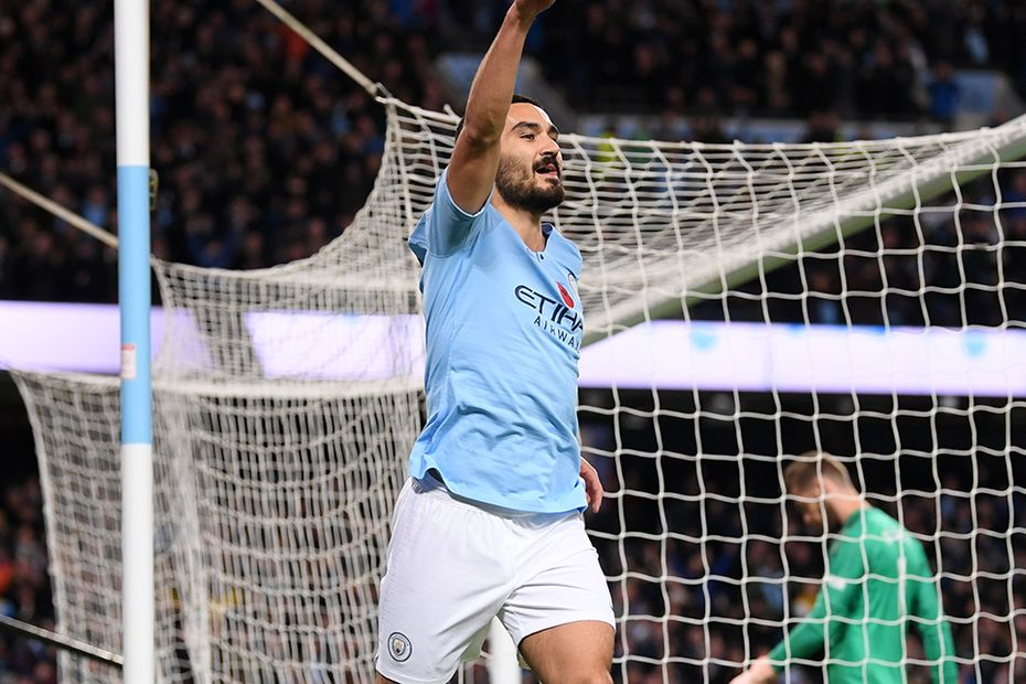 Ilkay Gundogan, Man City v Man Utd