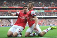 Goals of the 2010s: Wilshere finishes team move against Norwich