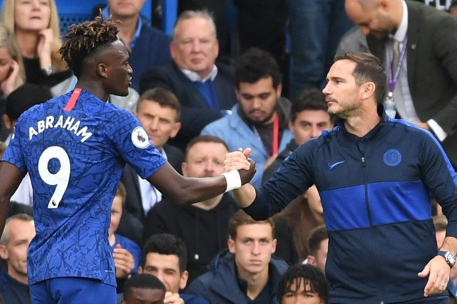 Tammy Abraham and Frank Lampard, Chelsea