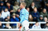 De Bruyne's Budweiser Goal of the Month v Newcastle