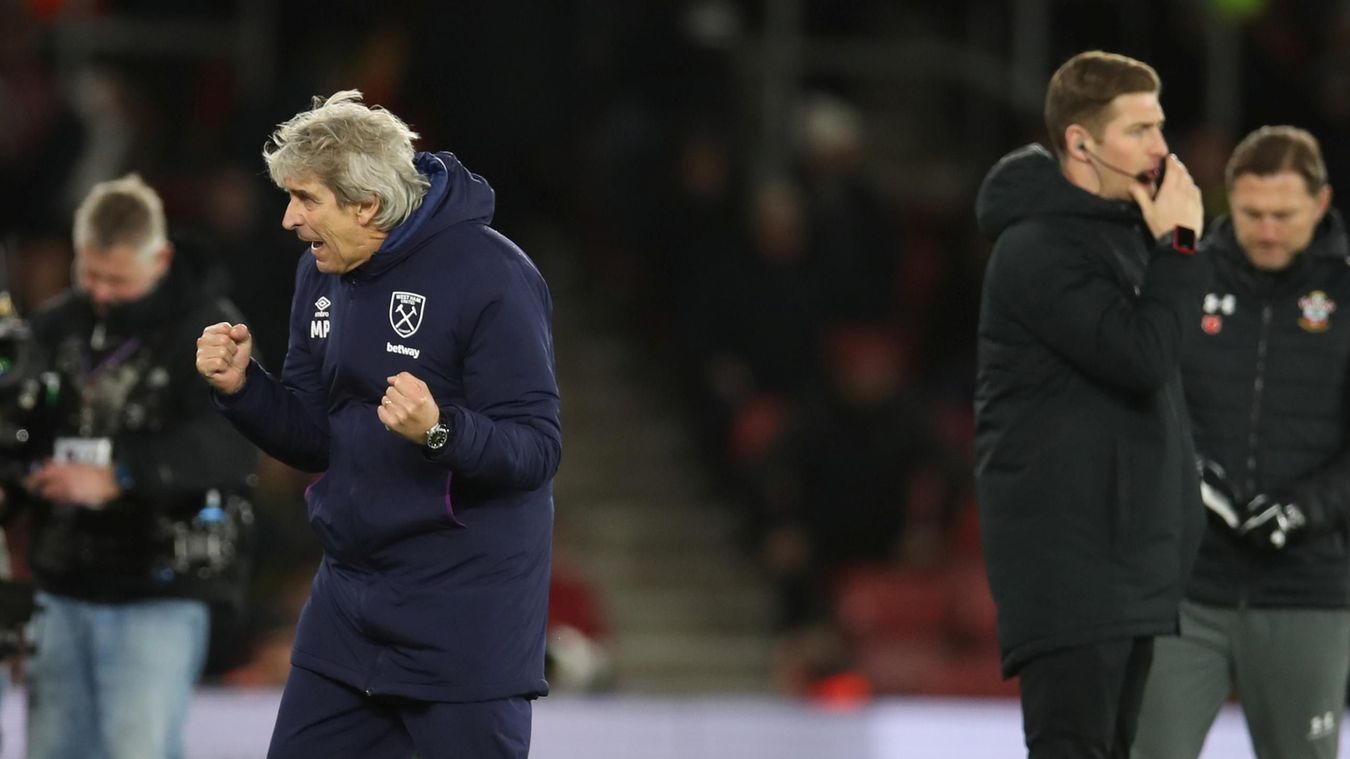 Southampton 0-1 West Ham United